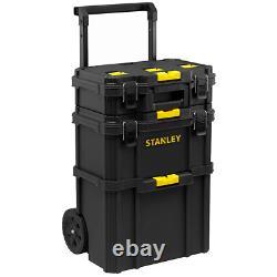 Stanley STST83319-1 Quick-Link Modular Rolling Workshop Wheeled Toolbox Stack