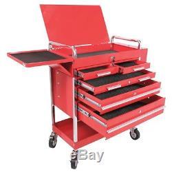 Sunex Professional Duty 5 Drawer Service Cart Mechanics Rolling Tool Box