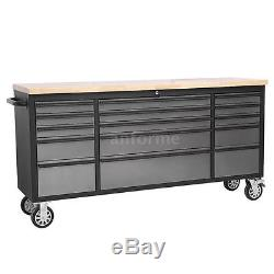 THOR Large 72 15 Drawers Craftsman Tool Chest Rolling Toolbox Work Station L7J4