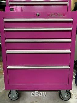 The Original Pink Box Rolling Drawer With Chest Combo Local Pickup Only
