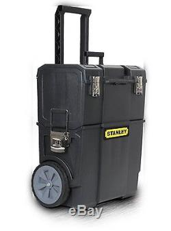 Tool Box Case Portable Chest Cabinet Cart Mobile Job Work Station Rolling Wheel