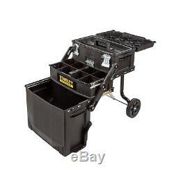 Tool Box On Wheels Garage Storage Organizer Portable Cart Tool Boxes Rolling