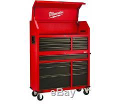 Tool Chest Box Rolling Cabinet Set 46 In. 16-Drawer Garage Storage Organizer