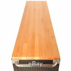 Tool Storage Chest Garage Drawer Work Benchtop Wood Organizer Rolling Heavy Duty