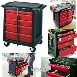 Toolbox Rolling Tools Cart Cabinet Commercial Storage Organizer For Mechanics Wo