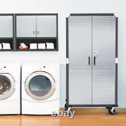 Ultrahd 72 Tall 2-door Rolling Storage Cabinet, 36 W X 18 D X 72 H