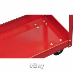 VidaXL 2x Workshop Tool Trolley 220lb Rolling Storage Workshop Transport Dolly