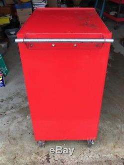 Vintage Snap On KRA377A Roll Coaster-Cab Tool Box Cabinet With Key 1963