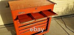 Vintage Snap-On Rolling Tool Box Cabinet KRA-300B Rolla Bench 1967 Rare