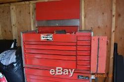 Vintage Snap-on Rolling Tool Box Chest With Top Tool Chest