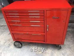 Vintage snap on Tool Box roll-cab 1966 KRA-396